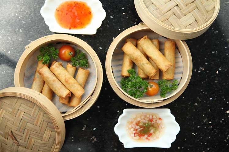 Vietnamese groenteloempia's